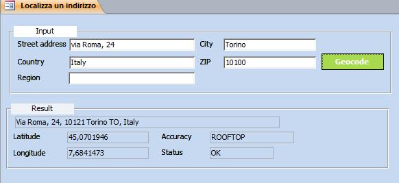 GPS Latitude and Longitude Geocoding using Microsoft Access